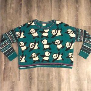 Oversized Panda Sweater